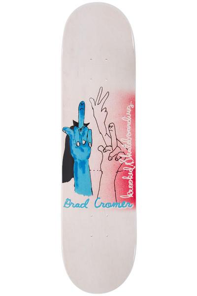 "Krooked Cromer Fuck It 8.06"" Planche Skate (white)"