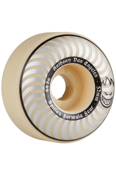 Spitfire Formula Four AVE 52mm Rollen (whiteout) 4er Pack