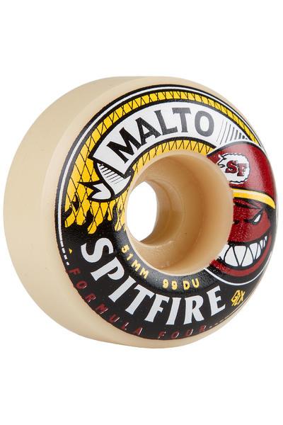 Spitfire Malto Hotbox Formula Four 51mm Rollen (multi) 4er Pack