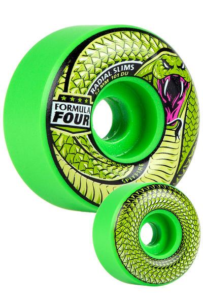Spitfire Formula Four Radials Slim Death Adder 52mm Rollen (green) 4er Pack