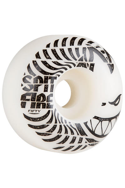 Spitfire Low Downs 50mm Roue (white) 4 Pack