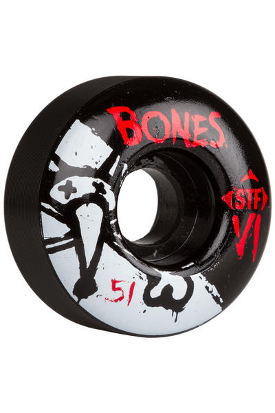 Bones STF-V1 Series II 51mm Wheel (black) 4 Pack