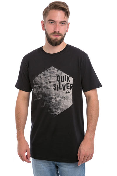 Quiksilver Classic Jumbled Hex T-Shirt (black)
