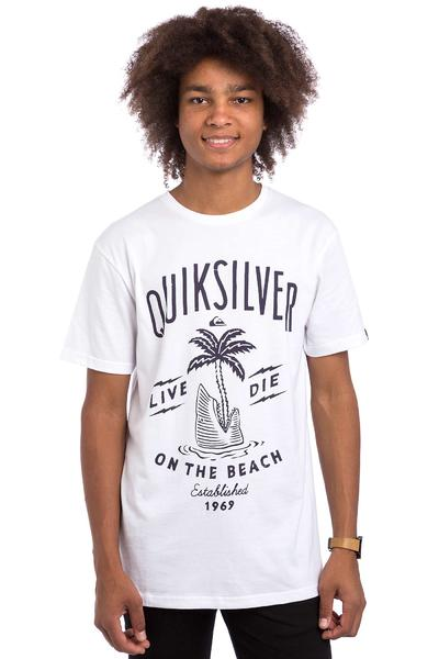 Quiksilver Classic Shark Island T-Shirt (white)