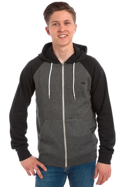 Quiksilver Everyday Zip-Hoodie (dark grey heather)