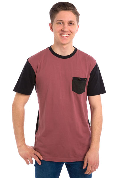 Quiksilver Baysic Pocket T-Shirt (wild ginger)