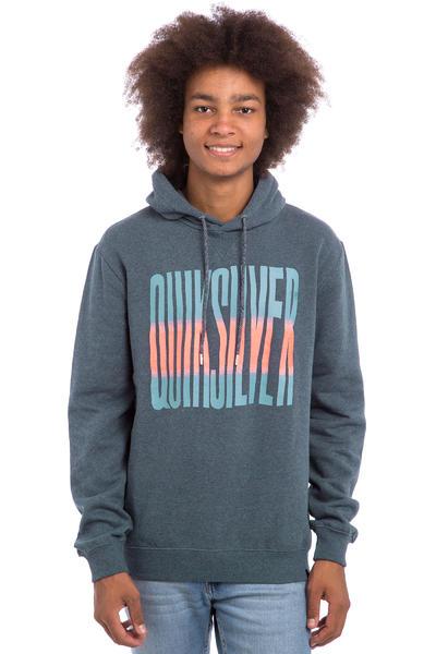 Quiksilver Neon Front Hoodie (navy blazer heat)