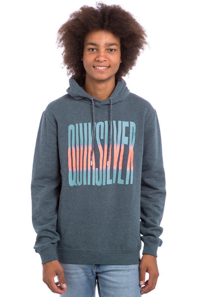 Quiksilver Neon Front sweat à capuche (navy blazer heat)