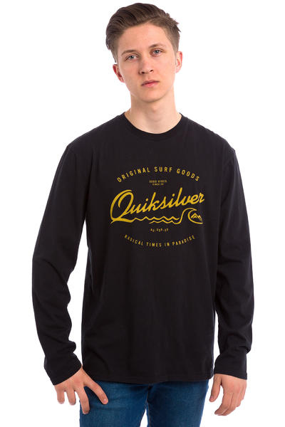 Quiksilver Classic West Pier Longues Manches (black)