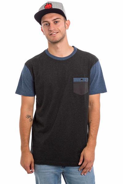 Quiksilver Baysic Pocket Camiseta (anthracite heather)