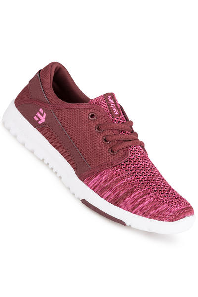 Etnies Scout YB Shoe women (burgundy)
