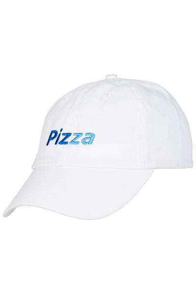 PIZZA PizzaPal Delivery Boy Unstructured Strapback Gorra (white)