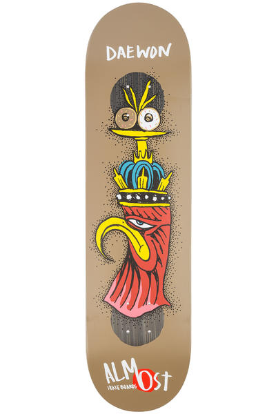 "Almost Song Bird Shits Impact Plus 8"" Deck (green)"