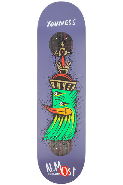"Almost Youness Bird Shits Impact Plus 8.25"" Deck (purple)"