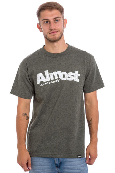 Almost Worn Out Logo T-Shirt (athletic heather)