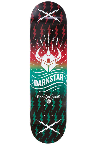 "Darkstar Axis 8"" Deck (red aqua)"