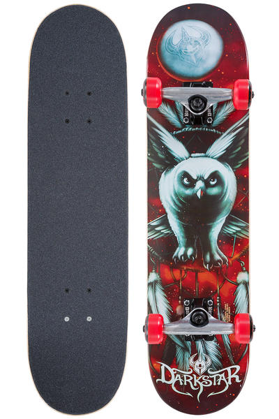 "Darkstar Night Owl Mid 7.375"" Complete-Board (red)"