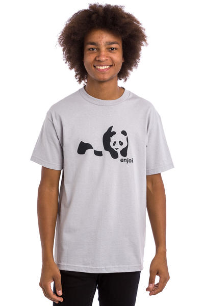 Enjoi Panda Splice T-Shirt (silver)