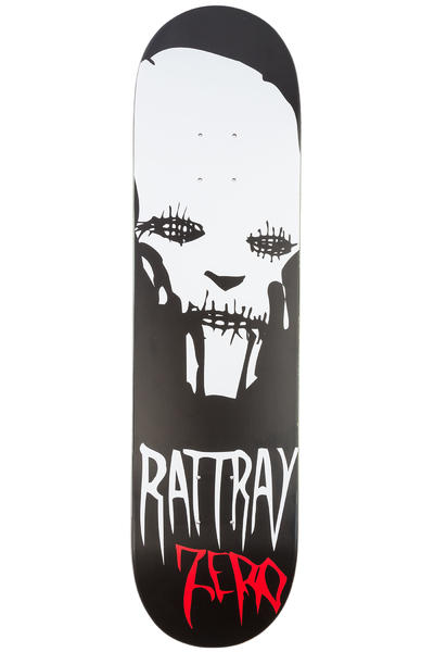 "Zero Rattray Stitches 8"" Deck (black white)"