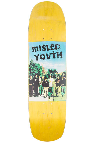 "Zero Team Misled Youth 8.5"" Deck (yellow)"