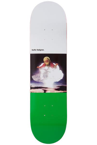 """Sour Skateboards Hallgren Religion 8"""" Deck (white green)"""
