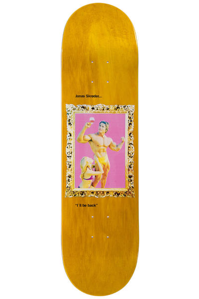 "Sour Skateboards Skröder Golden Frames 8.25"" Deck (yellow)"