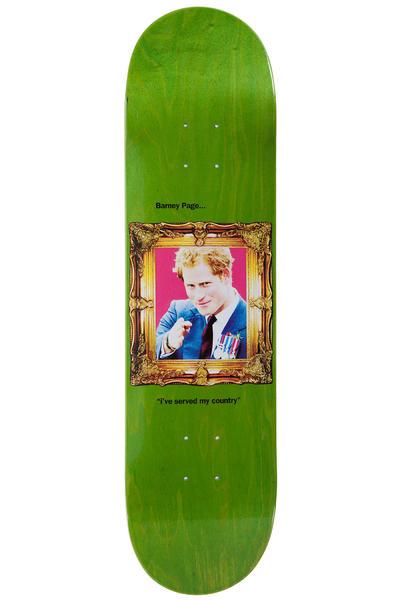 """Sour Skateboards Page Golden Frames 8"""" Deck (green)"""