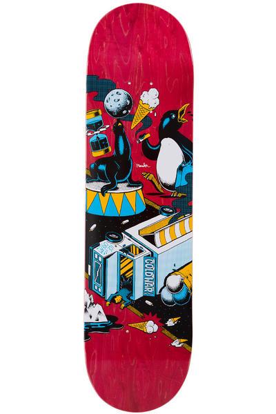 """Sour Skateboards Mander Cold War 8.125"""" Deck (red)"""