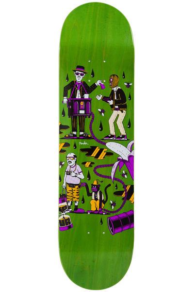 """Sour Skateboards Mander Oil Crisis 8.25"""" Deck (green)"""