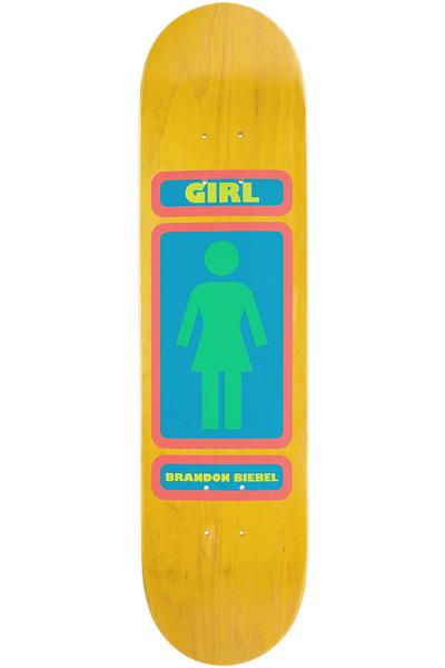 "Girl Biebel 93 Til 7.875"" Deck (orange)"