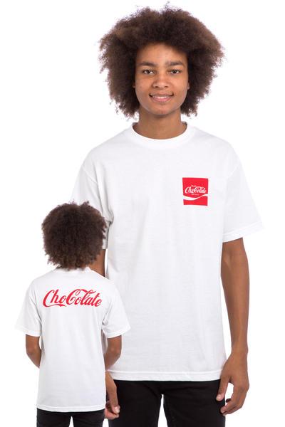 Chocolate ChoCola Camiseta (white)