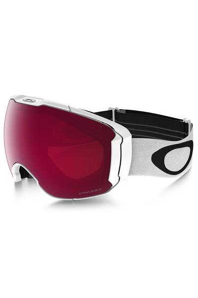 Oakley Airbrake XL Goggles (polished white prizm rose dark g) incl. Bonus glass