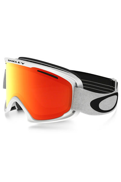 Oakley O2 XM Goggles (matte white fire iridium)