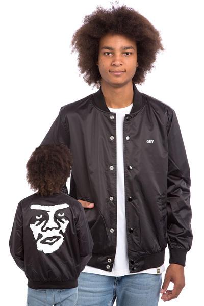 Obey Creeper Graphic Jacke (black)