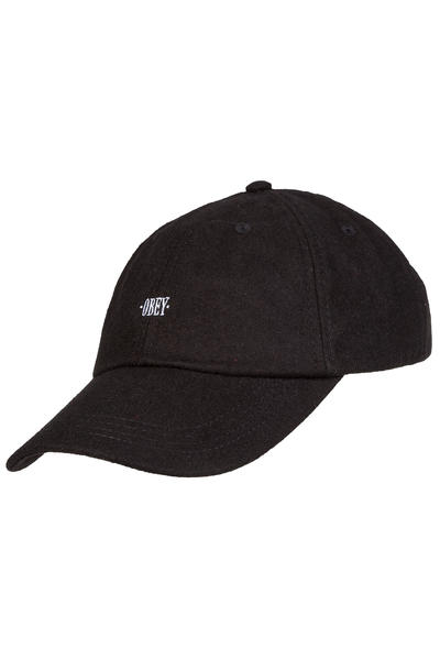 Obey Times 6 Panel Cap (black)