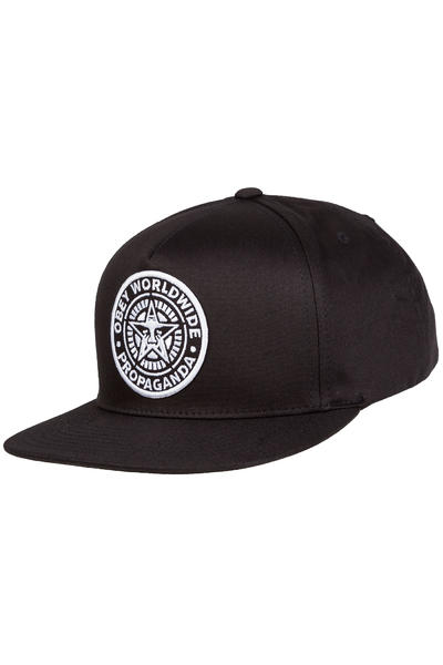 Obey Classic Patch Snapback Cap (black)