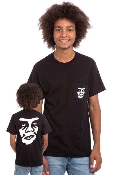 Obey The Creeper Pocket T-Shirt (black)