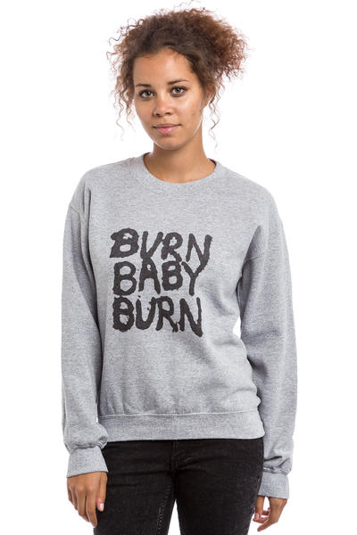 Obey War Pigs Sweatshirt women (heather grey)