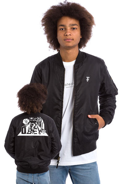 Obey x Bad Brains MA-1 Bomber Jacke (black)