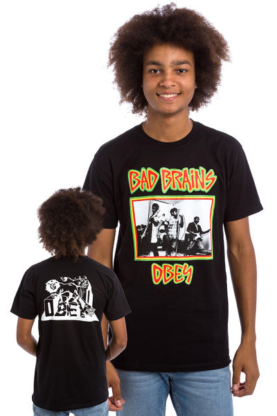 Obey x Bad Brains T-Shirt (black)