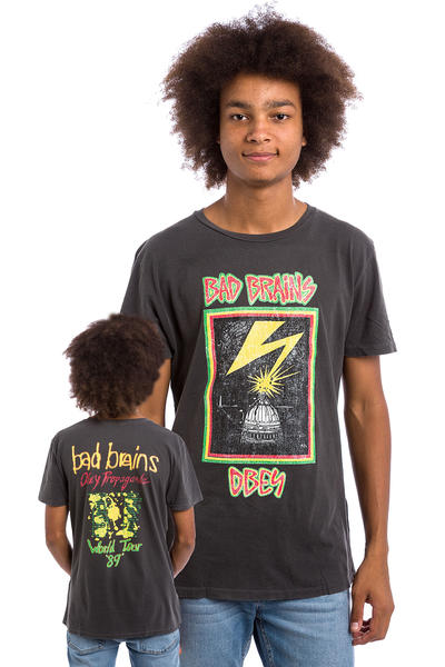 Obey x Bad Brains World Tour '89 T-Shirt (dusty black)