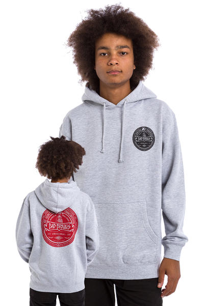 Obey x Bad Brains Re-Ignition Hoodie (heather grey)