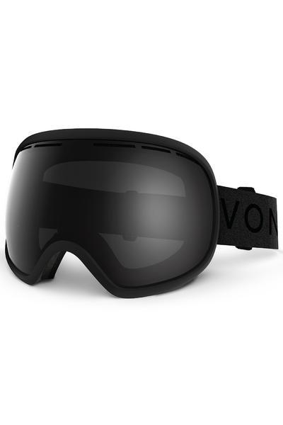 VonZipper Fishbowl Goggles (black satin blackout) inkl. Bonusglas