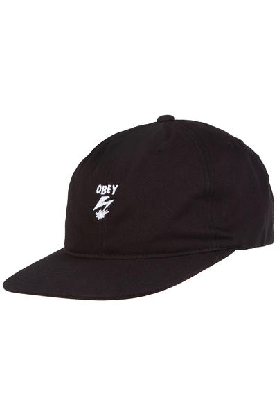 Obey x Bad Brains Bolt 6 Panel Cap (black)