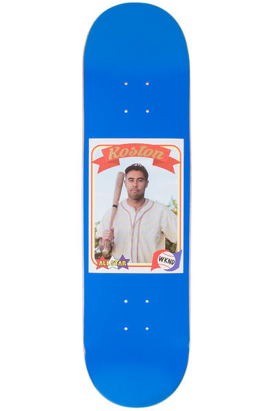 "WKND Koston Trading Card 8.38"" Deck (blue)"