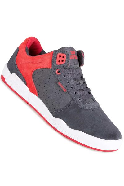 Supra Ellington Schuh (dark grey red white)