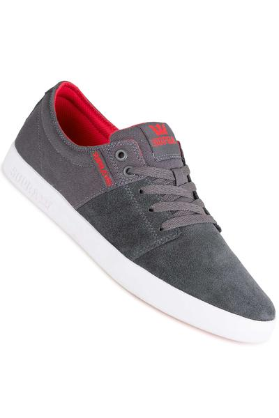 Supra Stacks II Schuh (dark grey red white)