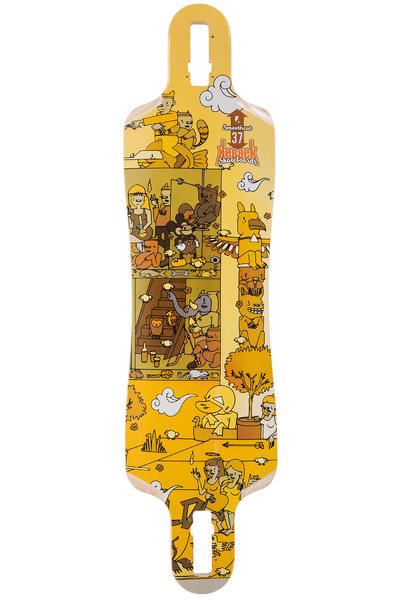 """Kebbek Smoothcut 37"""" (94cm) Longboard Deck 2016"""