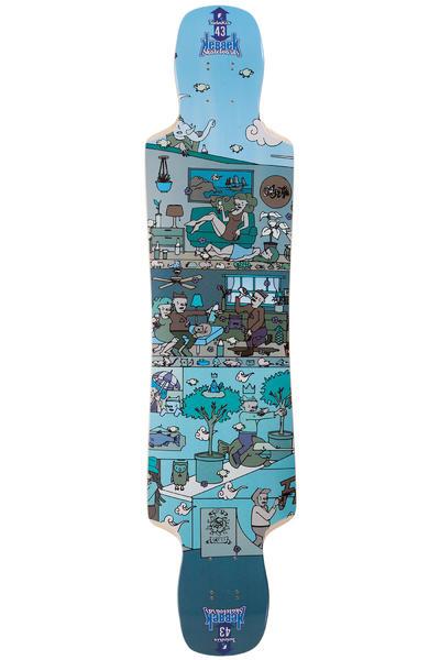 """Kebbek Twinkix 43"""" (109,5cm) Longboard Deck"""