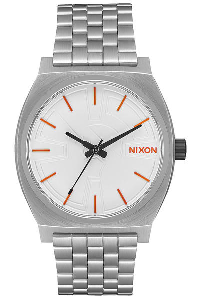 Nixon x Star Wars BB-8 The Time Teller Uhr (silver orange)